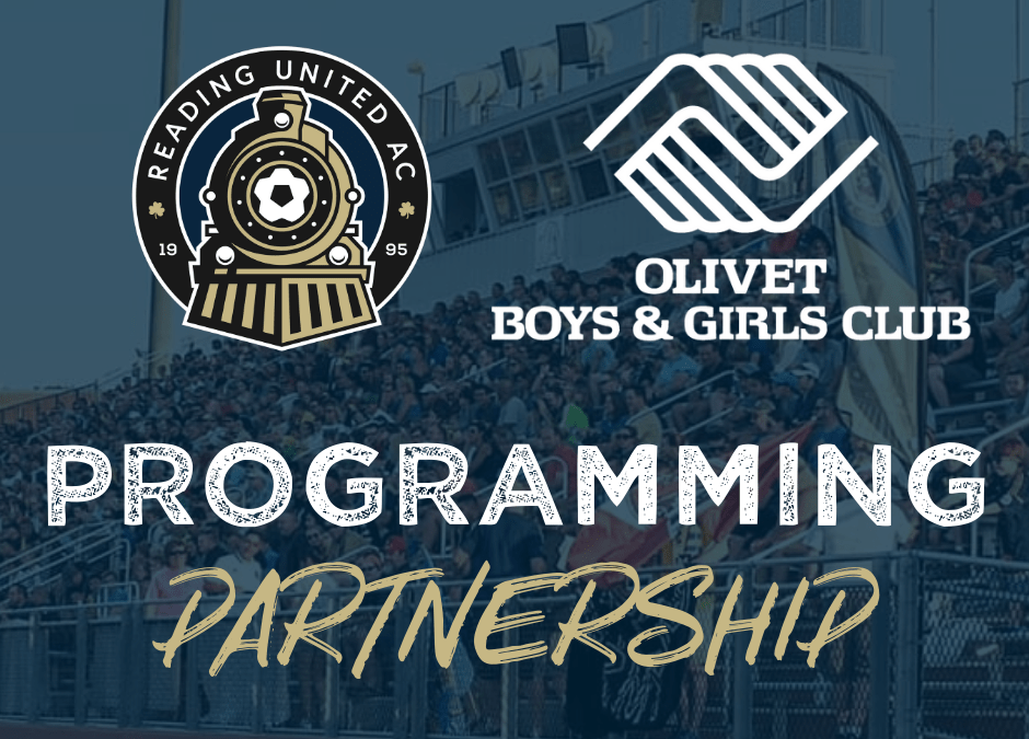 Reading United Partners with Olivet to Provide Youth Soccer Programming
