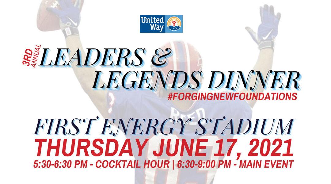 3rd Annual Leaders & Legends Dinner