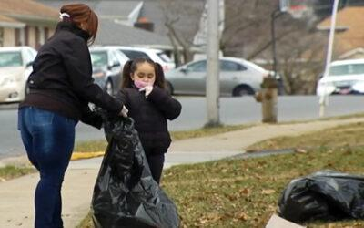 Day Off from School Becomes Day of Service for Olivet Kids