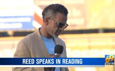 Reed Speaks at Olivet Boys & Girls Club Event