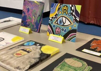 Reception Honors Olivet Youth Artists in 'Multiple Impressions' Art Show
